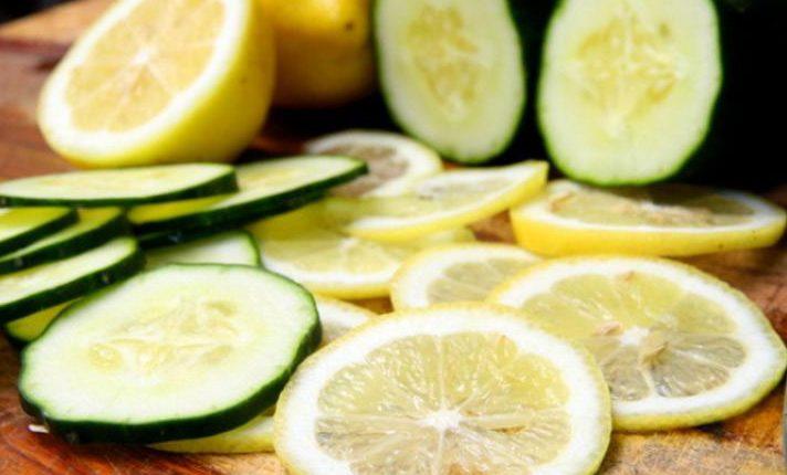 ماسک لیمو و خیار