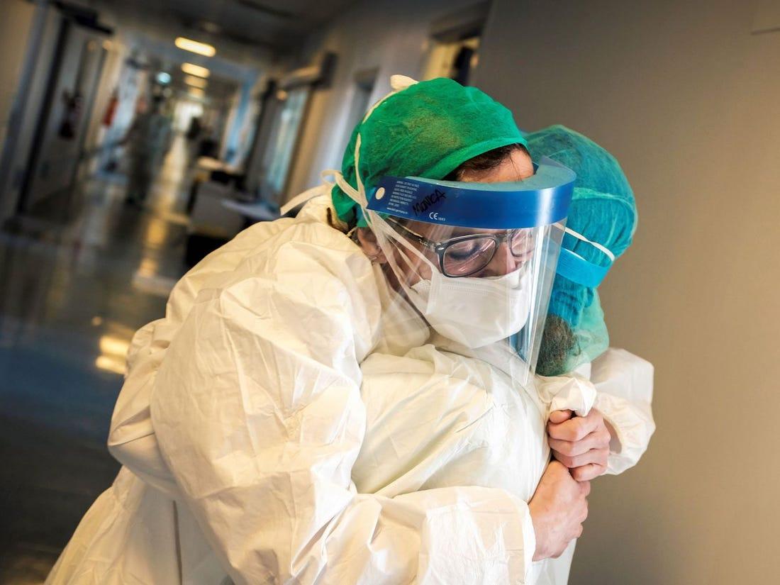 کادر درمان کرونا ویروس