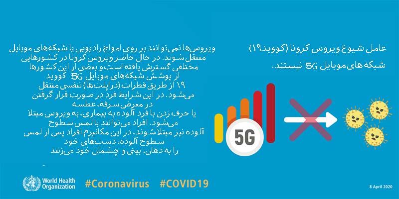 شبکه 5G و کرونا